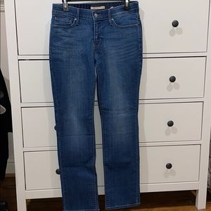 Levi's The Perfect Waist Straight Jeans